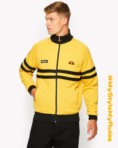 Rimini Track Top Yellow