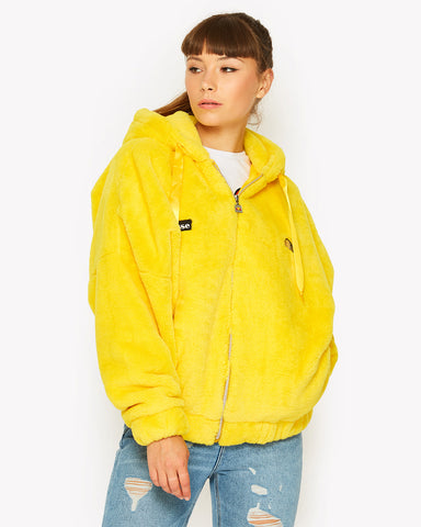 Giovanna Zip Jacket Yellow