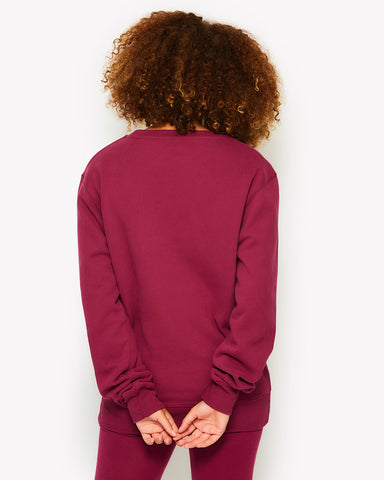 Agata Sweatshirt Purple