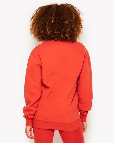 Agata Sweatshirt Red