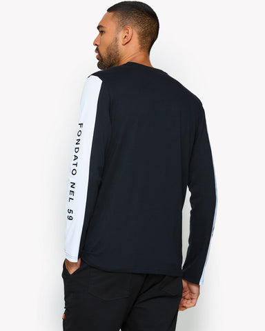 Mainardo Long Sleeve T-Shirt Black