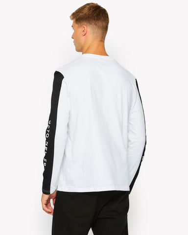 Mainardo Long Sleeve T-Shirt White