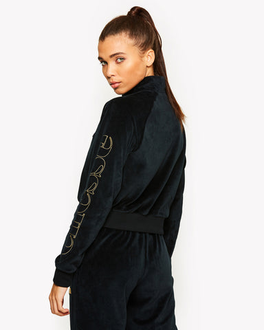Sarasso Fleece Top Black