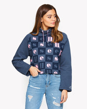 Ferro Fleece Top Navy
