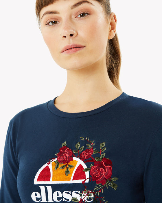 Omissa Long Sleeved T-Shirt Navy