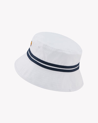 Lorenzo Bucket Hat White