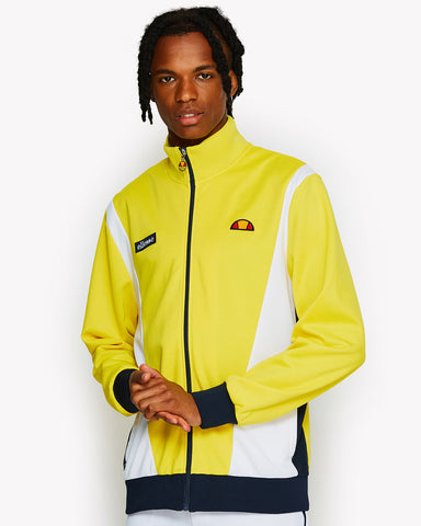 Vilas Track Top Yellow