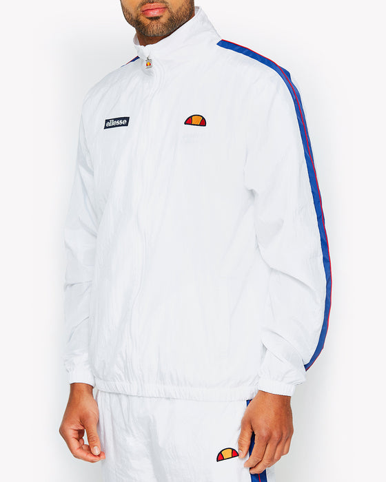 Fiastra Track Top White