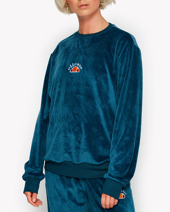 Basilo Sweat Teal