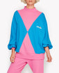 Diamante Sweat Blue