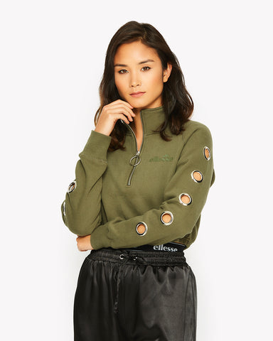 Marcuzzi Crop Top Green