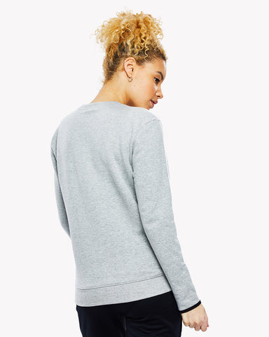 Caserta Crew Sweat Grey Marl