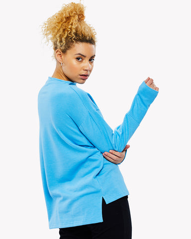 Tenero Loose Fit Sweat Light Blue