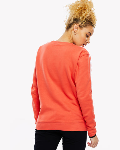 Caserta Crew Sweat Orange
