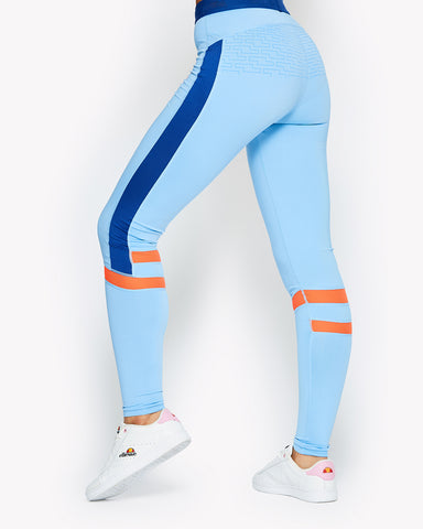 Gloriosa Legging Light Blue
