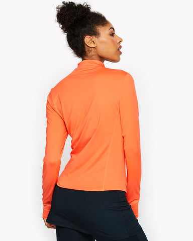 Namora Track Top Orange