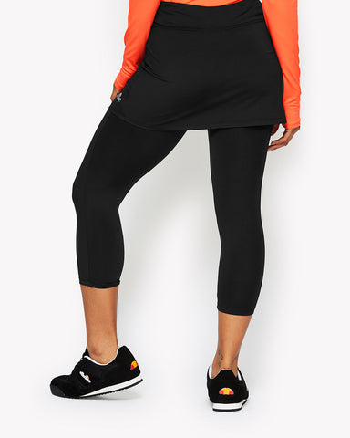 Lyja Skirt And Legging Black