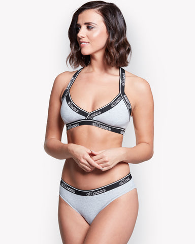 Tobia Bra Top Grey