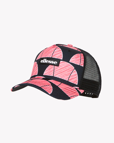 Rosey Trucker Cap Black