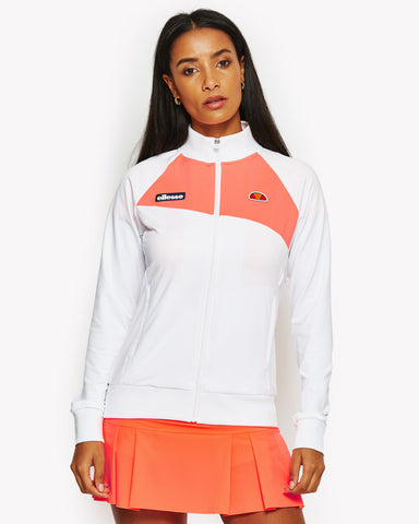 Monarch Track Top White