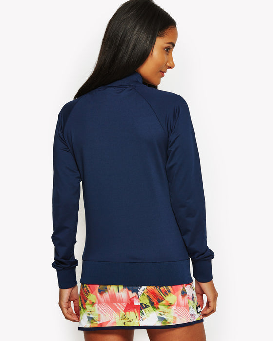 Monarch Track Top Navy
