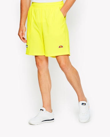 Rizzo Poly Shorts Yellow
