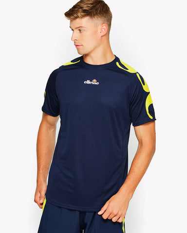 Peregrine Poly T-Shirt Navy