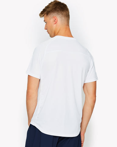 Harrier Poly T-Shirt White