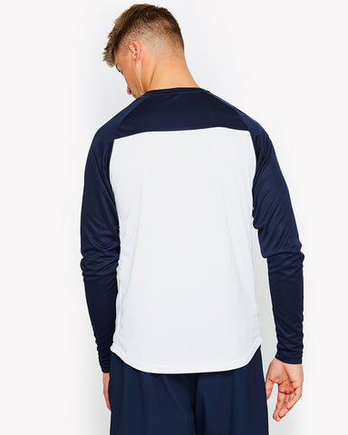 Kestrel Poly Long Sleeve T-Shirt White