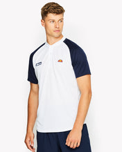 Hawk Poly Polo White Navy