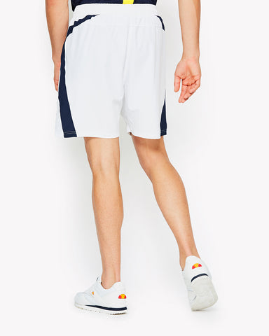 Tundra Poly Shorts White