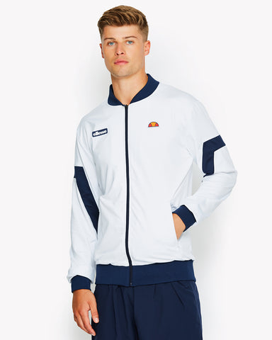 Montagu Poly Track Top White