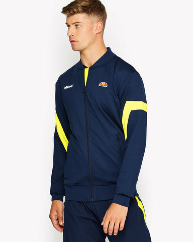 Montagu Poly Track Top Navy