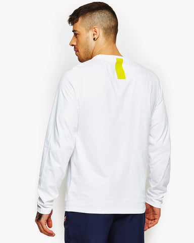Tournamo Long Sleeve T-Shirt White