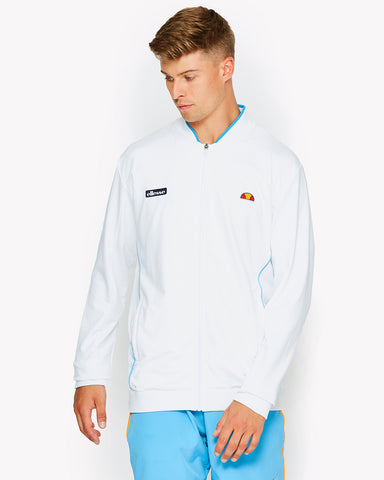 Bagnall Track Top White