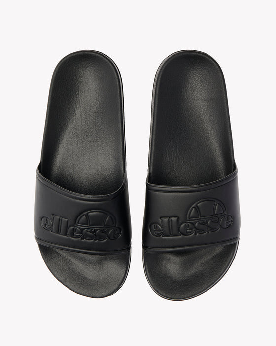 Fillipo Slide Black Mono