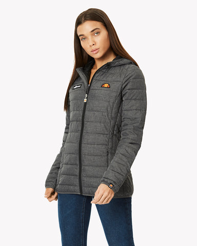 Lompard Padded Jacket Grey Grindle