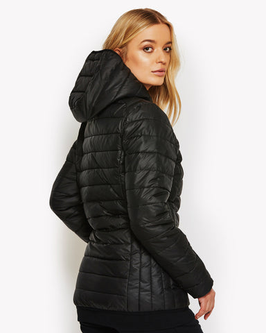 Lompard Padded Jacket Black
