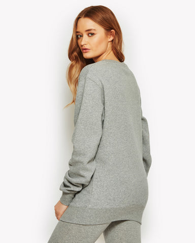 Agata Crew Sweat Grey