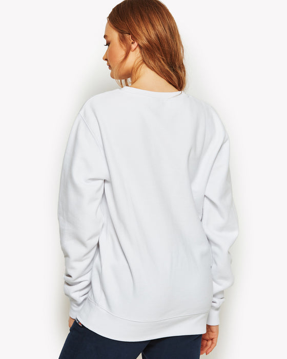 Agata Crew Sweat White