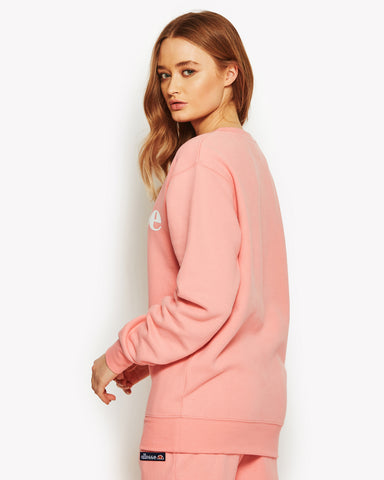 Agata Crew Sweat Pink