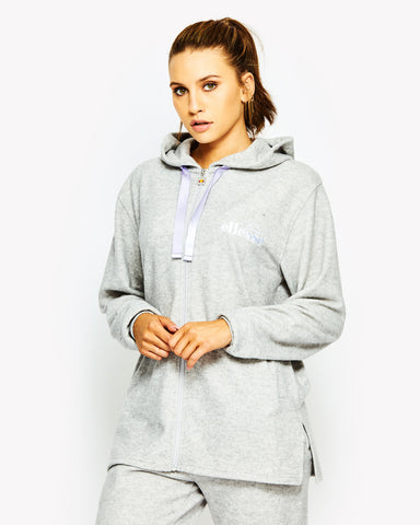 Erika Long Hoody Grey