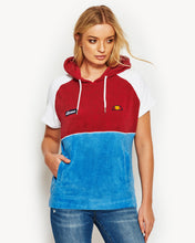 Padau Short Sleeve Hoody Red