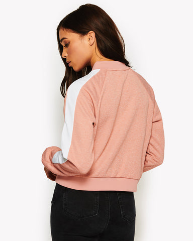 Insalata Crop Top Pink