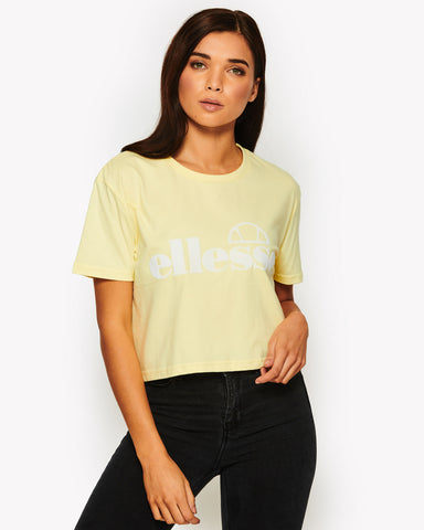 Secca Crop T-Shirt Yellow
