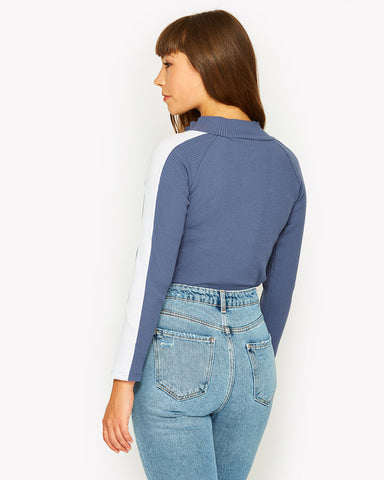Linari Long Sleeve Body Navy