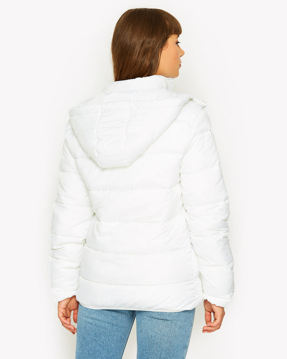 Andalo Padded Jacket White