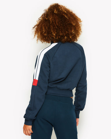 Alagna Track Top Navy