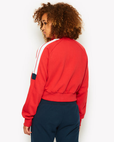 Alagna Track Top Red