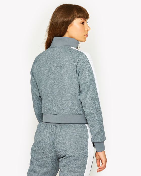 Pinzolo Funnel Neck Track Top Navy